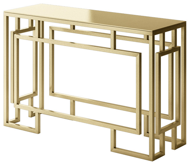 Designer Modern Home Alice Console Table With