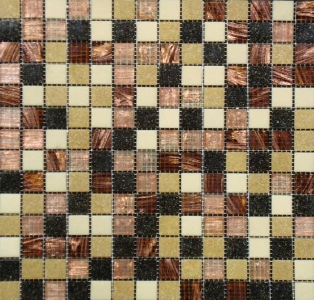 Desert Sunset Mosaic Gl Tile Sample
