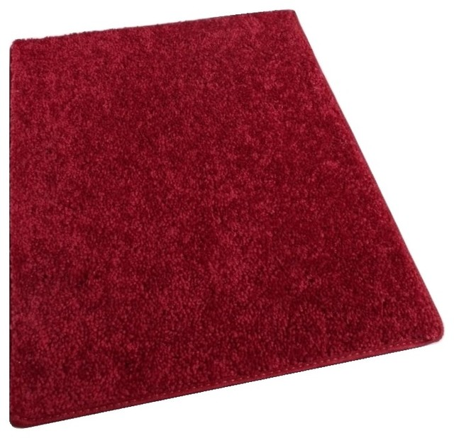Square 12'x12' Shaw, Om Ii Ruby Slipper Red Carpet Area Rugs