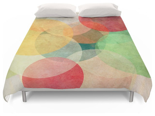 The Round Ones Duvet Cover - Contemporary - Duvet Covers And Duvet Sets - by Society6