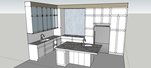 Need Help Planning My New Traditional Kitchen A Contemporary Feel