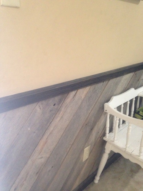 Wall Color To Complement Dark Trim Wood