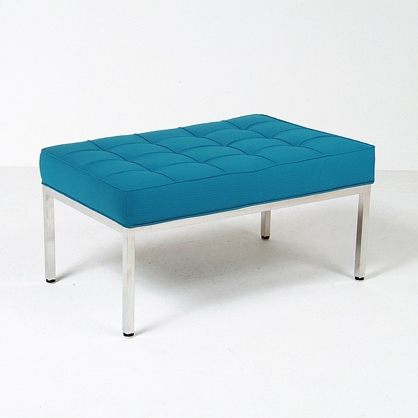 Florence Knoll 36 Inch Bench Reproduction Fabric Modern
