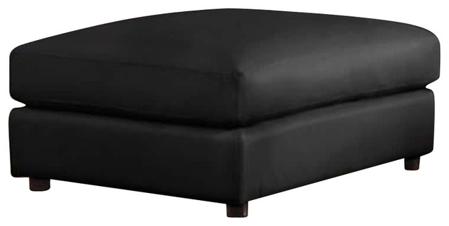 Coaster Quinn Contemporary Square Cocktail Storage Ottoman in Black  transitional-footstools-and-ottomans - Shop Houzz Coaster Fine Furniture Coaster Quinn Contemporary
