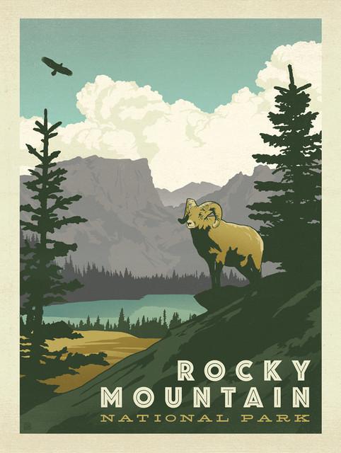 Art & Soul Of America: Rocky Mountain National Park Gallery Print. -1