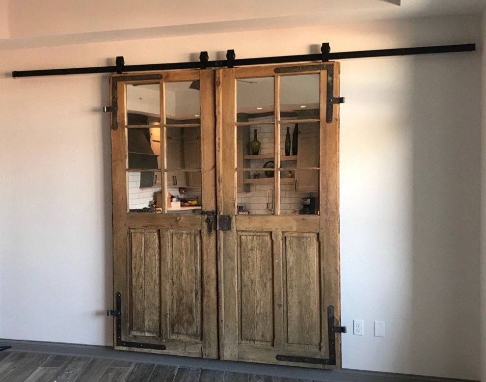 Up-cycle antique French doors