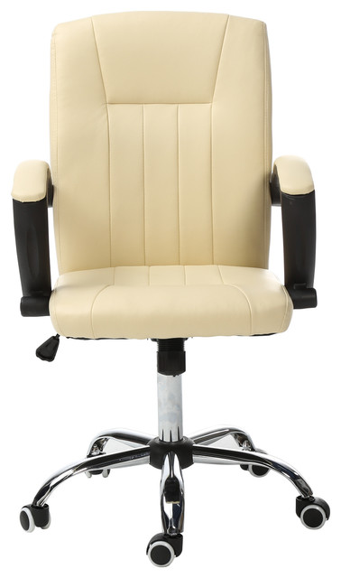 Office Chair Executive Task Home Computer Desk Chairs Ivory