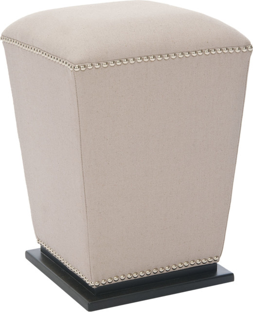 Amazing Safavieh Mason Beige Fabric Ottoman Set Of 2 X 2Tes F8604Duh Caraccident5 Cool Chair Designs And Ideas Caraccident5Info