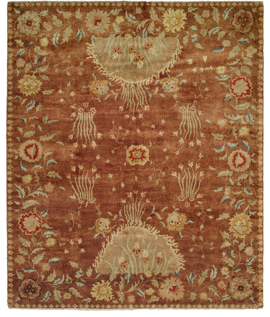Carol Bolton Rosewood Reverie Hand Knotted Rug