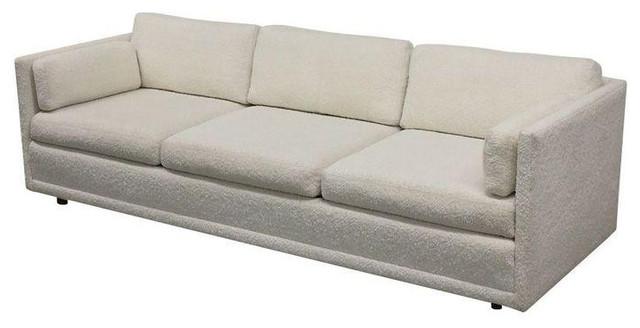92 Quot Directional Tuxedo Style Sofa C 1970s
