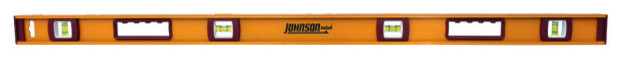 Johnson Level 1233-4800 Heavy Duty I-Beam Aluminum Level, 48.