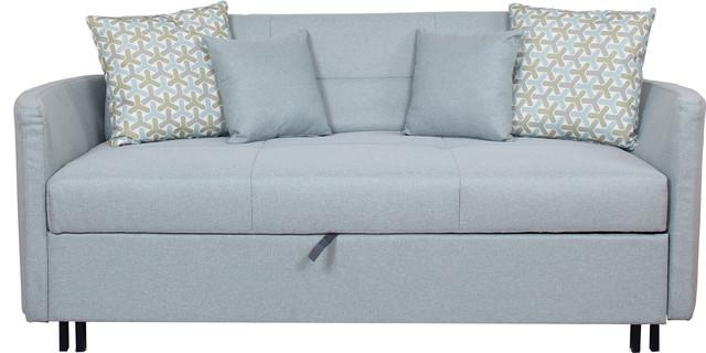 Harper Convertible Sofa Bed Transitional Sleeper Sofas