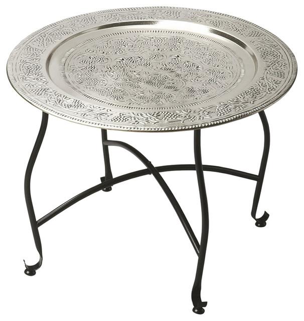 Butler Agadir Metal Moroccan Tray Table Mediterranean Coffee Tables
