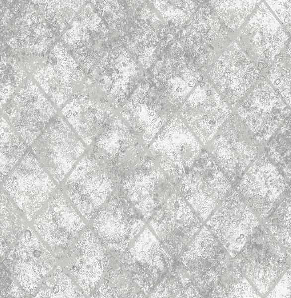 Fine Decor Mercury Glass Silver Distressed Metallic