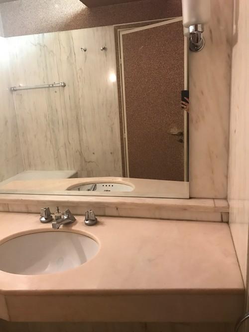 moderniser une salle de bain en conservant les mat riaux initiaux. Black Bedroom Furniture Sets. Home Design Ideas