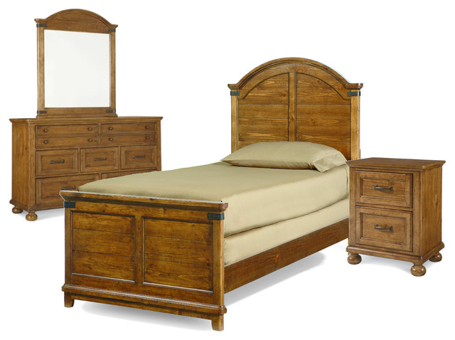Legacy Classic Kids Bryce Canyon Arched Panel Bedroom Set, Twin.