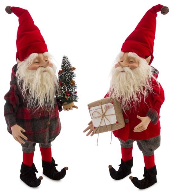 "Elf, Set of 2, 25.5""H Polyester/Resin"