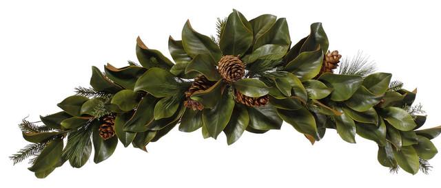 Magnolia Leaf Swag