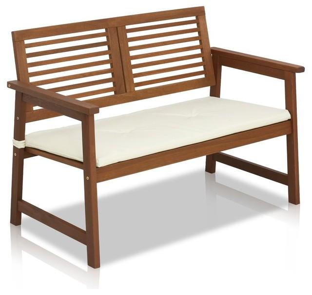 Swell Garden Outdoor Wooden Bench Machost Co Dining Chair Design Ideas Machostcouk