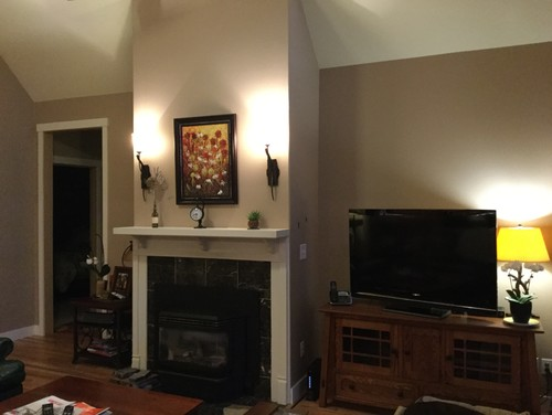 Bulky Fireplace Sticks Out Too Far Into Room