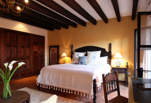 Spanish Colonial Wood Beam Ceiling Should I Go White