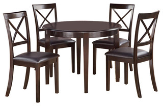 Bost3-Cap-Lc Boston Dining Set