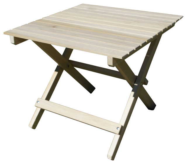 Beau Shark Shade Folding Table