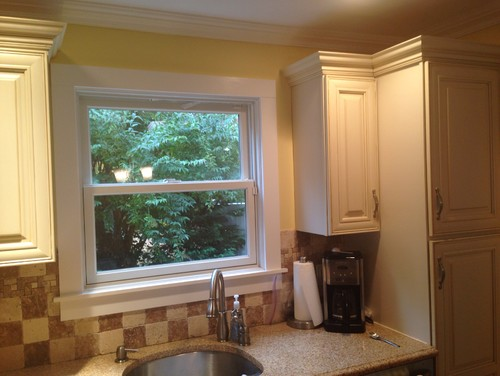 Painting Your Kitchen Cabinets Is No Small Undertaking: Wall Paint Color With Cream Kitchen Cabinets