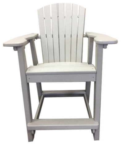 Cool All Recycled Counter Height Adirondack Chair Sandstone Pdpeps Interior Chair Design Pdpepsorg