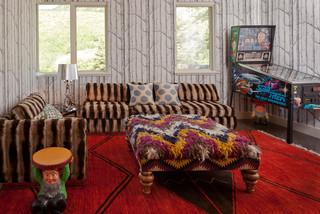 Retro modern family room modern family room