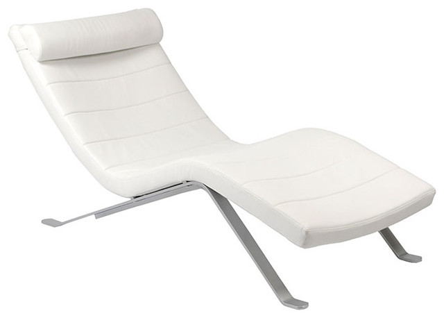 Gilda Lounge Chair Saffron Modern Indoor Chaise Lounge Chairs by Sleek