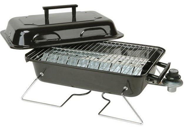 "Kay Home Products 30005 11.25""x19"" Portable Gas Grill."