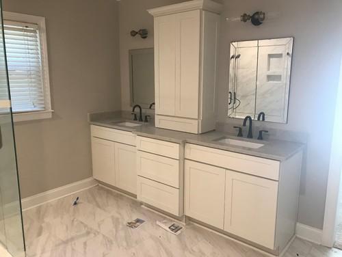Master Bath Hand Towel Holder Placement