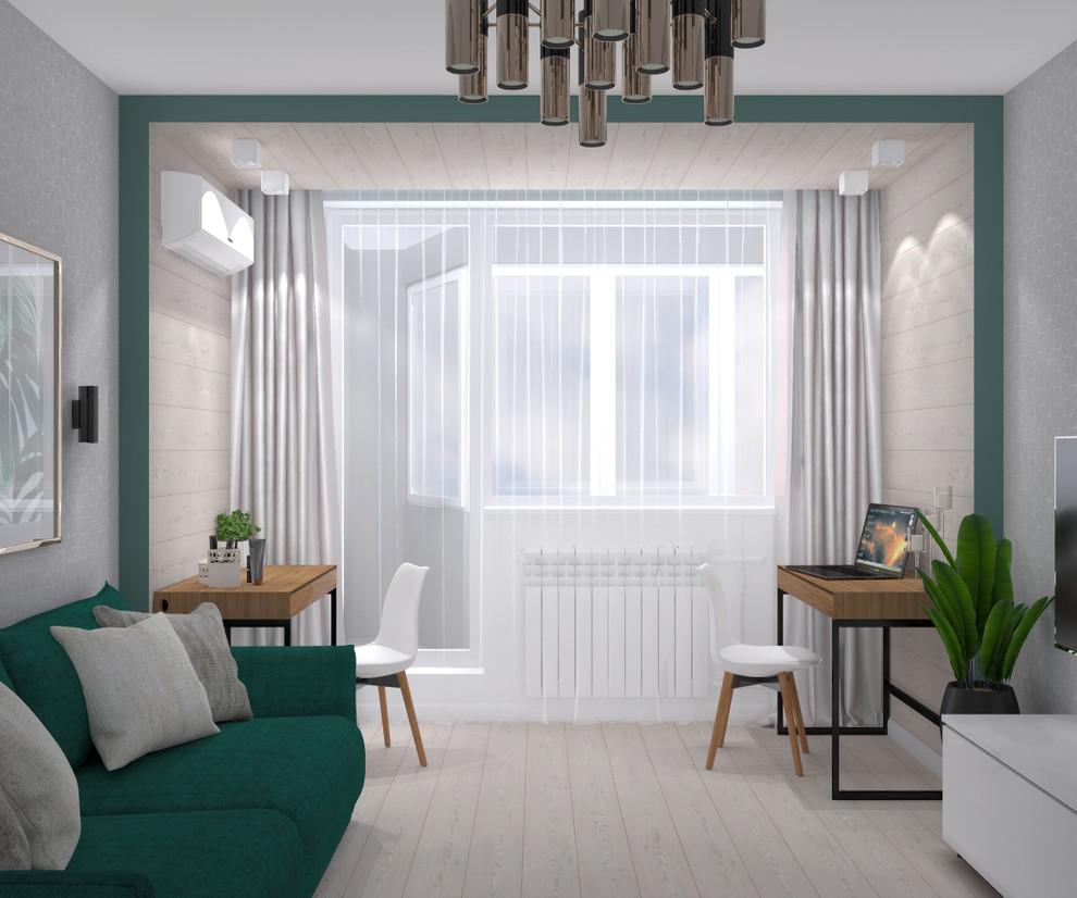 Гостиная-спальня (вариант разработки)