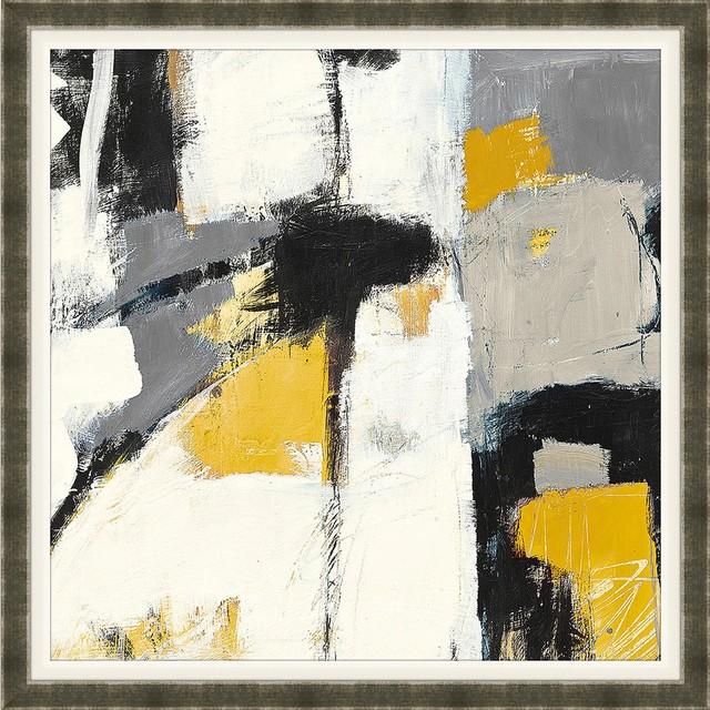 yellow catalina framed artwork modern fine art prints