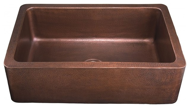 """Lucca Handcrafted Sink, Copper, 33""""."""
