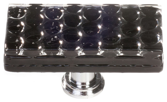 Honeycomb Black Long Knob - Contemporary - Cabinet And Drawer Handle Pulls - by Sietto