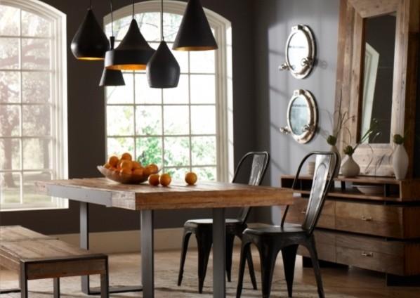 Industrial Dining Room - Industrial - Dining Room - Dallas - by ...