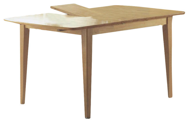Dining Table Xx Maple With A Leaf Transitional - 36 x 48 dining table with leaf