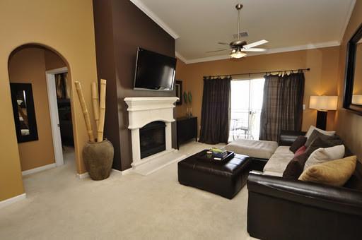 Merveilleux Warm Neutral Colors For A Living Room   Contemporary   DC ...