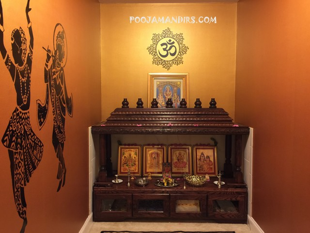 Perfect Custom Pooja Mandirs
