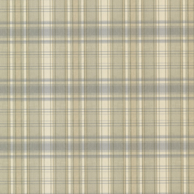 Bluewater Light Blue Sunny Plaid Wallpaper Swatch