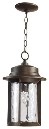 Charter 1-Light 9.5 Oiled Bronze Pendant.