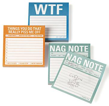 Sticky Notes modern desk accessories