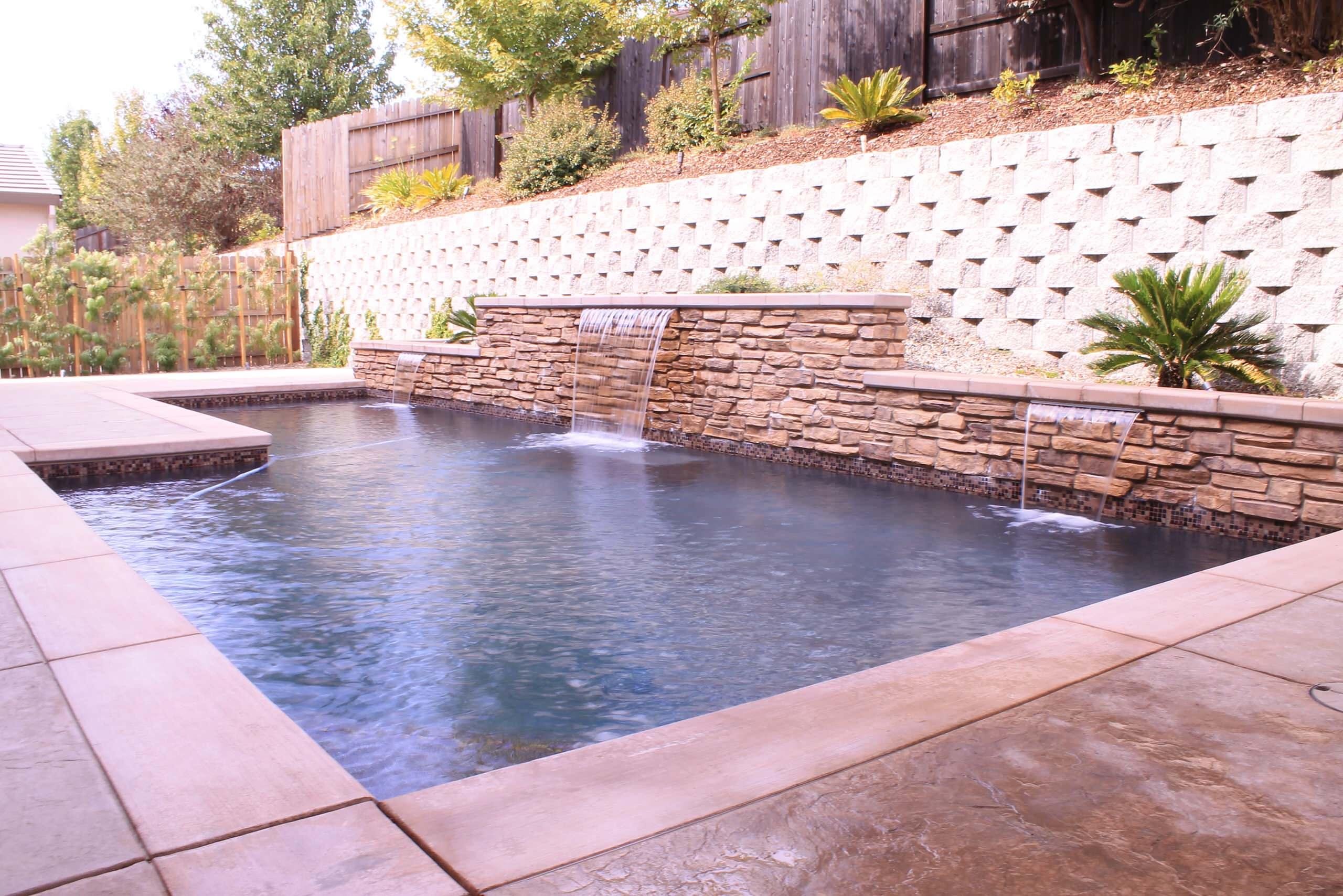 Rectangular Pool, Rocklin