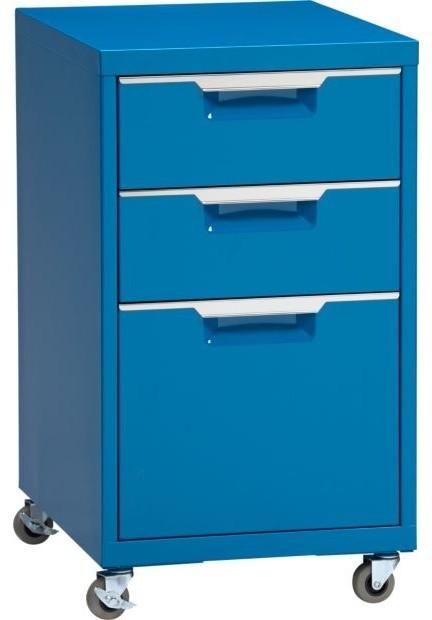 TPS Blue File Cabinet