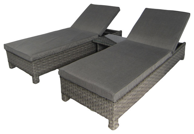 Victoria Sun Lounger and Table