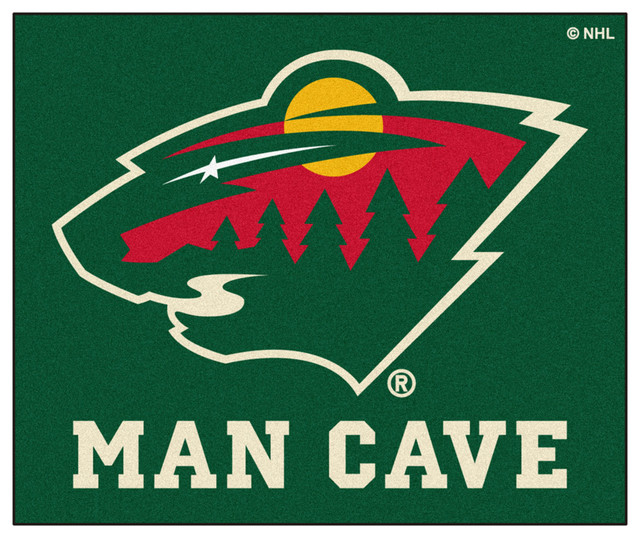Man Cave Rugs : Fanmats minnesota wild man cave area rug rugs houzz