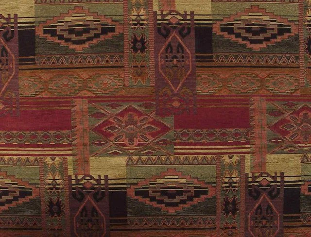Sedona Canyon Southwestern Upholstery Fabric Traditional