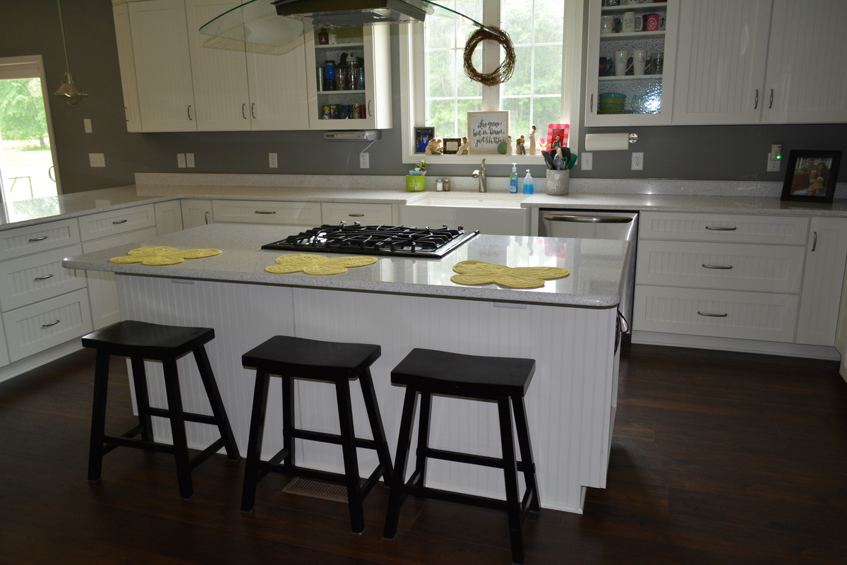 Inspiration for a large transitional home design remodel in Other